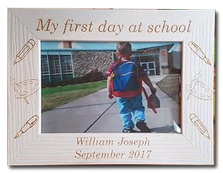 My First Day at School Photo Frame