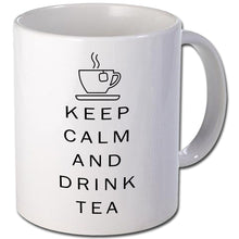 Load image into Gallery viewer, Keep calm and drink tea Personalised Mug - A Pinch of Love Gifts
