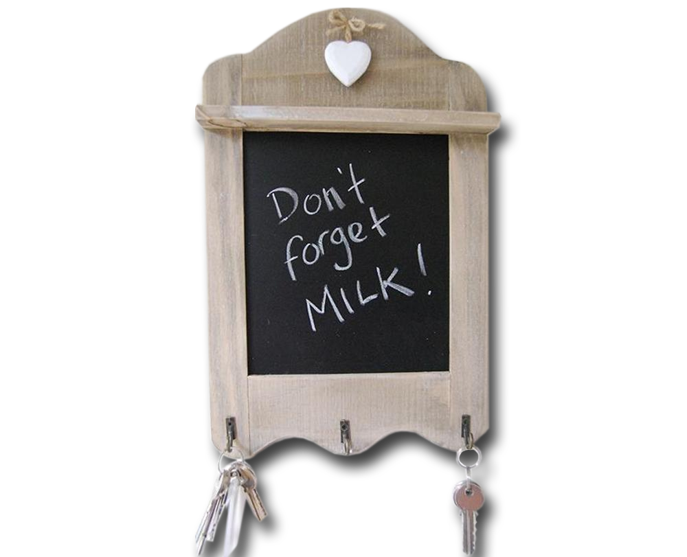Wall Hanging Wooden Chalkboard - A Pinch of Love Gifts