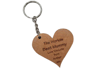 World's Best Mummy keyring