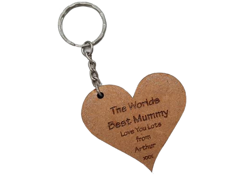 World's Best Mummy keyring - A Pinch of Love Gifts