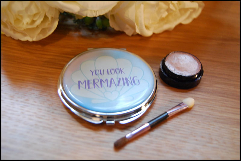 You Look Mermazing Mirror - A Pinch of Love Gifts