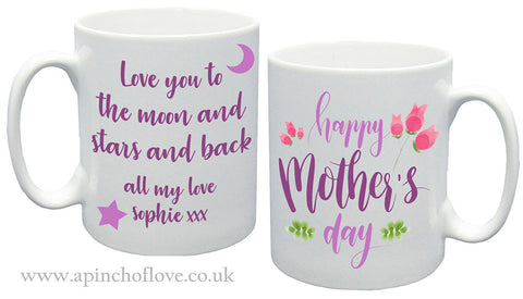 Mothers Day Personalised Mug - A Pinch of Love Gifts
