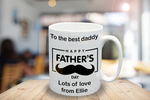 Father's Day Personalised Mug - A Pinch of Love Gifts