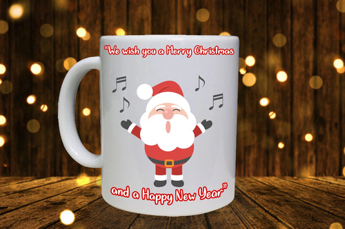 Merry Christmas Personalised Mug - A Pinch of Love Gifts