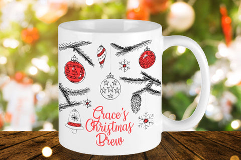 Christmas Brew Personalised Mug - A Pinch of Love Gifts