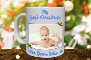 My First Christmas Personalised Mug - A Pinch of Love Gifts