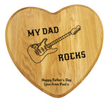 My Dad Rocks Chopping Board - A Pinch of Love Gifts