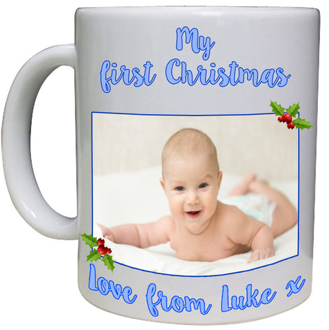 My First Christmas Personalised Mug