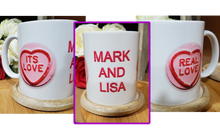 Load image into Gallery viewer, Real Love Personalised Mug - A Pinch of Love Gifts