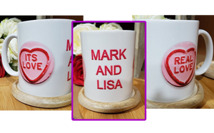 Real Love Personalised Mug