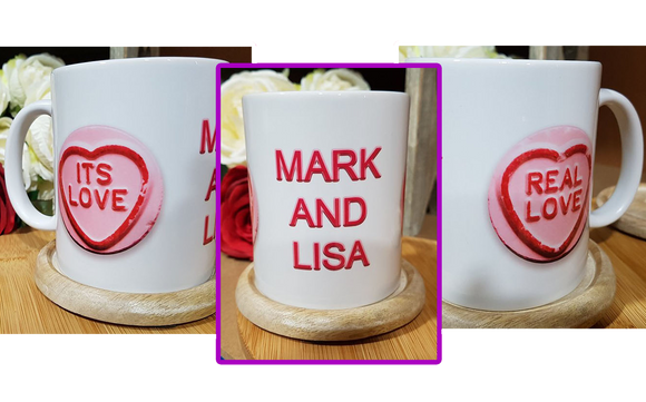 Real Love Personalised Mug - A Pinch of Love Gifts