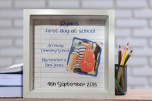 Load image into Gallery viewer, Back to school 3D Frame - A Pinch of Love Gifts