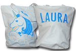 Personalised Unicorn Cloth Bag - A Pinch of Love Gifts