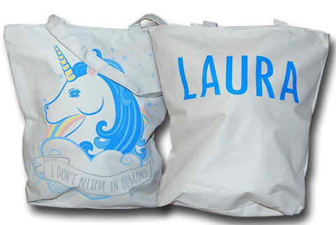 Personalised Unicorn Cloth Bag