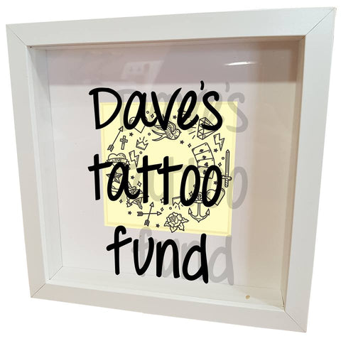 tattoo fund money box savings