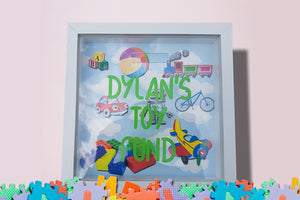 Toy Fund Box - Personalised! - A Pinch of Love Gifts
