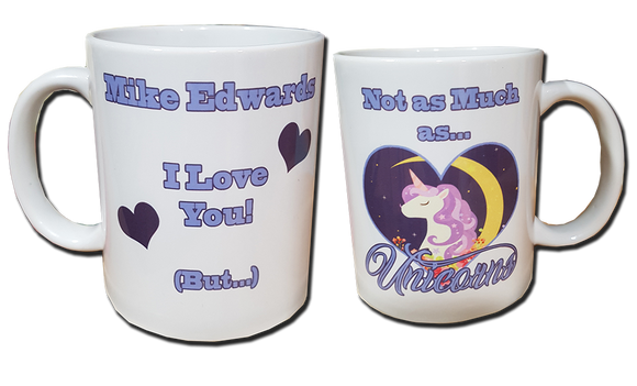 Love Unicorns Personalised Mug - A Pinch of Love Gifts