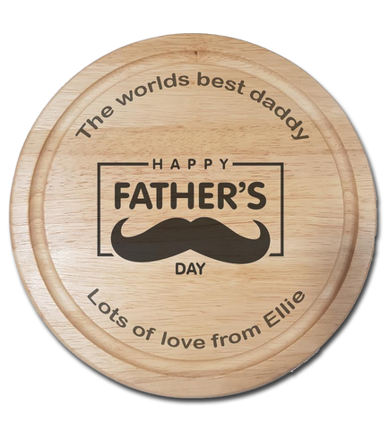 Worlds best daddy, Fathers day board