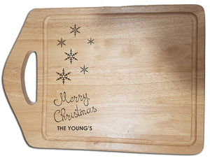 """Merry Christmas"" Chopping Board"