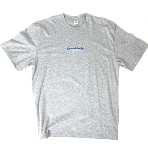 Split retro T-shirt (Sports Grey)