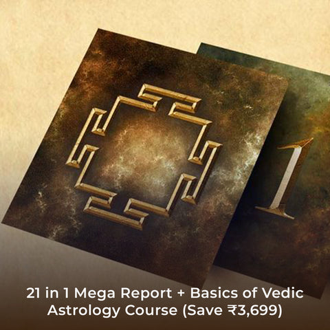 21 in 1 Mega Report + Basics of Vedic Astrology Course (Save ₹3,699)
