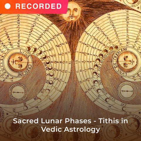 Sacred Lunar Phases - Tithis in Vedic Astrology