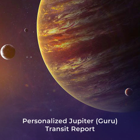 Personalized Jupiter (Guru) Transit Report