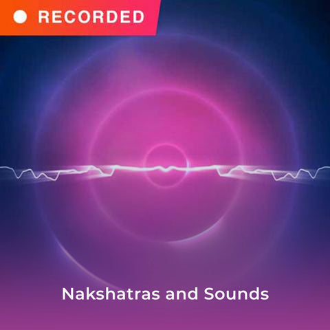 Nakshatras and Sounds