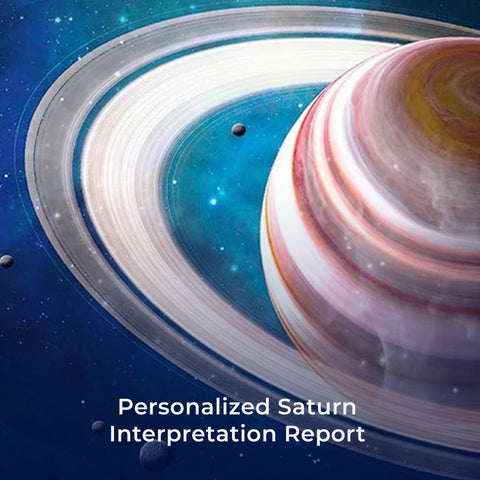 Personalized Saturn Interpretation Report