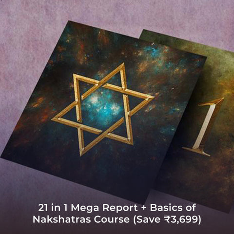 21 in 1 Mega Report + Basics of Nakshatras Course (Save ₹3,699)