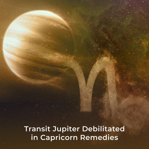 Transit Jupiter Debilitated in Capricorn Remedies