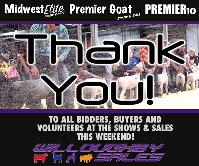 VISIT US AT THE MIDWEST ELITE SHOW & SALE