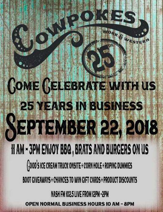 JOIN US IN CELEBRATING 25 YEARS!
