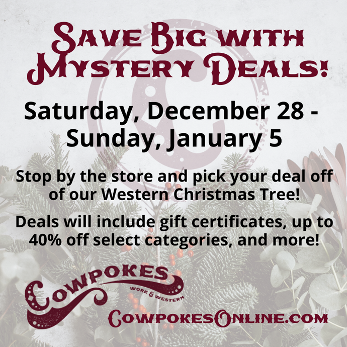 DON'T MISS OUR IN-STORE MYSTERY DEALS & STEALS!