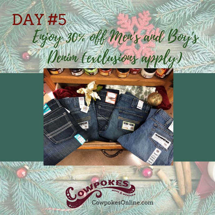 DAY 5 OF OUR 12 DAYS OF CHRISTMAS SALES