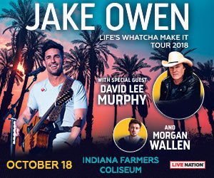 WIN TICKETS TO SEE JAKE OWEN IN CONCERT!