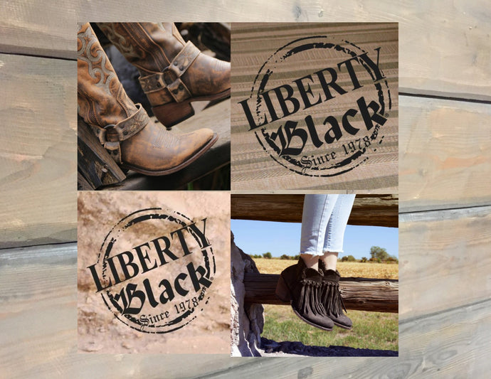 INTRODUCING LIBERTY BLACK BOOTS
