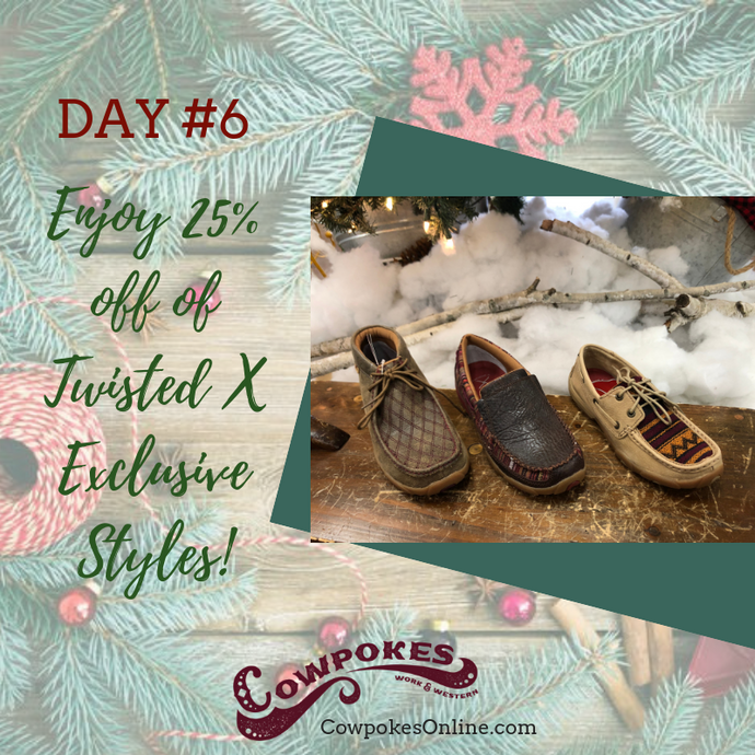 DAY 6 OF OUR 12 DAYS OF CHRISTMAS SALES