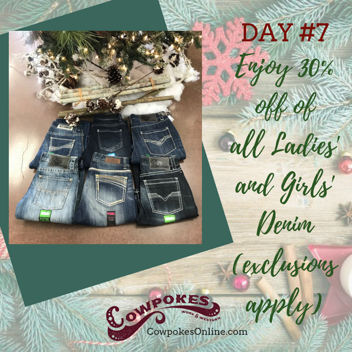 DAY 7 OF OUR 12 DAYS OF CHRISTMAS SALES