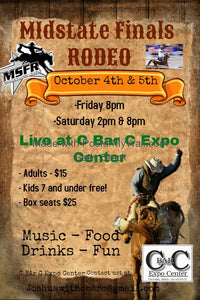 JOIN US AT THE MID-STATES RODEO FINALS!
