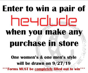 WIN A PAIR OF HEYDUDE SHOES!