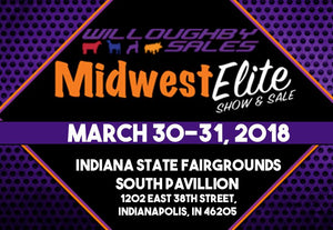 VISIT OUR BOOTH AT THE MIDWEST ELITE SHOW & SALE!