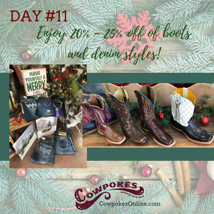 DAY 11 OF OUR 12 DAYS OF CHRISTMAS