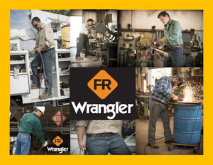 WRANGLER FLAME RESISTANT WORKWEAR