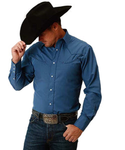 ROPER MEN'S WESTERN SNAP SHIRT - STYLE #01-001-0017-0413