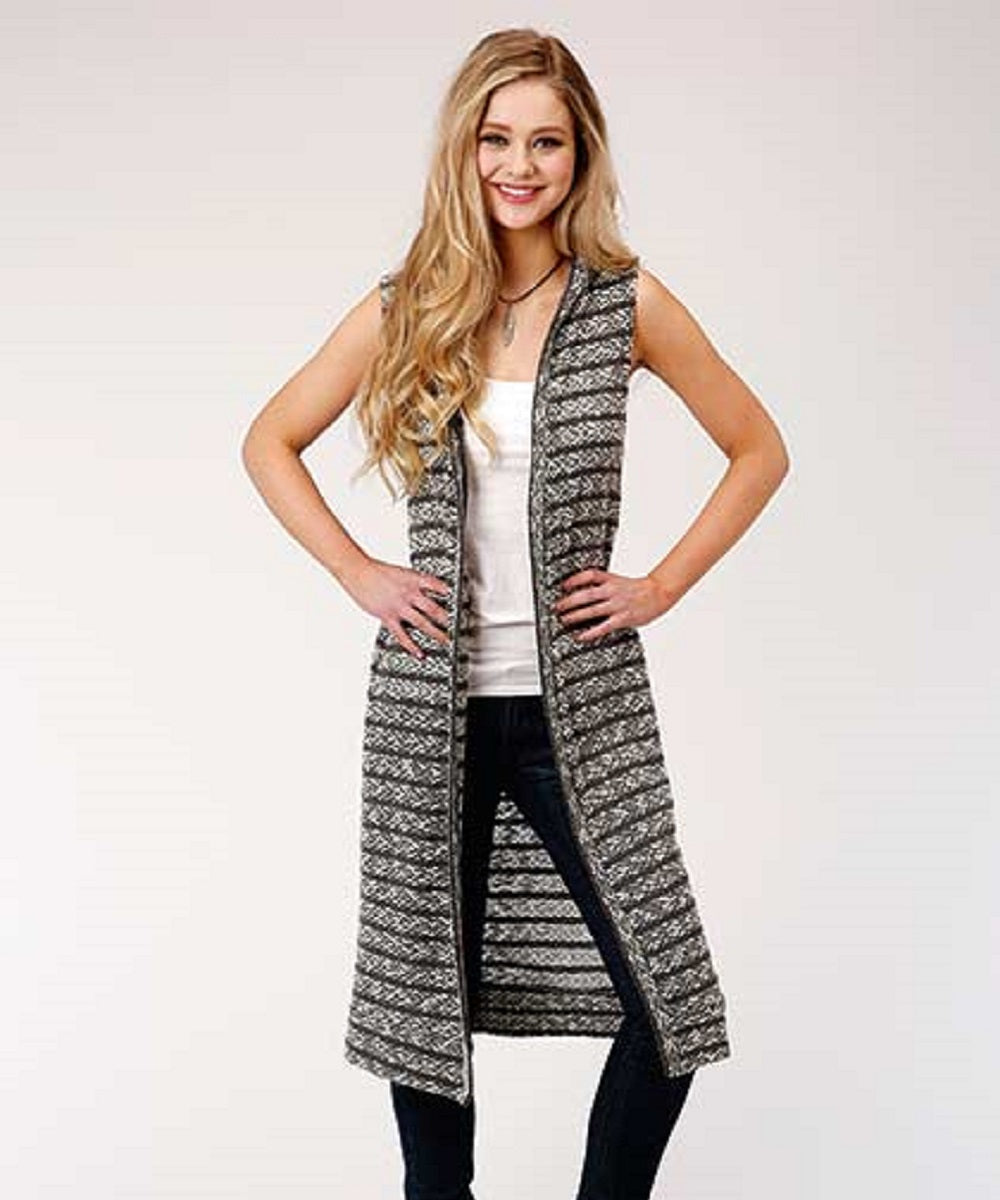 Roper Women's Sleeveless Cardigan Sweater- Style #03-029-0539-2010