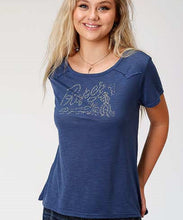 Roper Women's Printed Knit Tee- Style #03-039-0513-4013