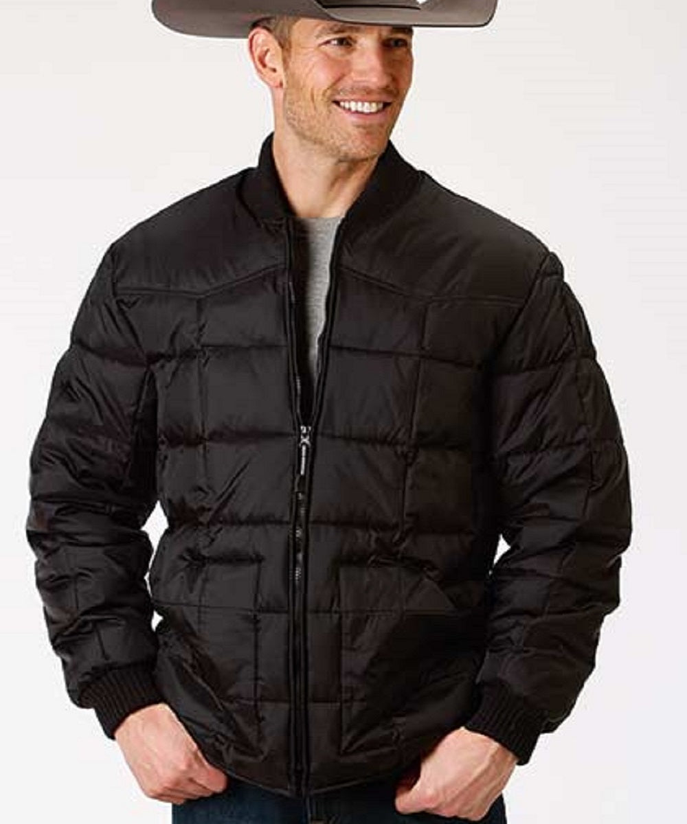 Roper Men's Black Rangegear Down Jacket- Style #03-097-0761-0522