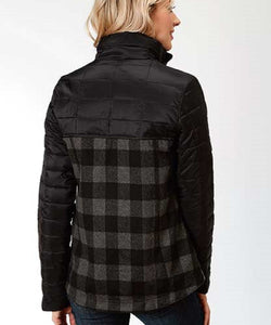 Roper Women's Plaid Combo Jacket- Style #03-098-0687-6112